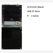 2N® IP Verso Basic unit without camera Black