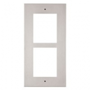 2N® Helios IP Verso frame for installation in the wall, 2 modules