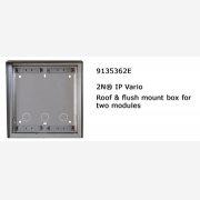 2N® roof and box for masonry fitting 2 modules