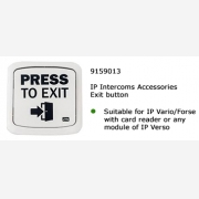 2N® Exit button with card reader