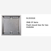 2N® flush fixed box for 2 modules