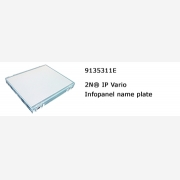 2N® IP Vario infopanel name plate
