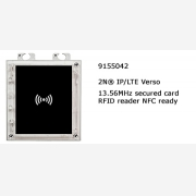 2N® IP Verso RFID secure card reader NFC 13.56MHz ready