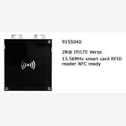 2N® IP Verso RFID smart card reader NFC 13.56MHz ready