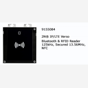 2N® IP Verso Bluettoth & RFID Reader 125KHZ, secured 13,56MHZ, NFC