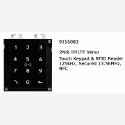 2N® IP Verso Touch Keypad & RFID Reader secured 125KHZ, 13,56MHZ, NFC